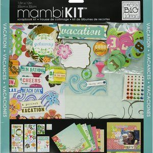 "Me & My Big Ideas Surf Shop Page Kit, 12"" by 12"""
